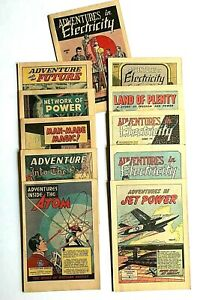 1947-1953-General-Electric-Adventures-in-Science-Comics-MINT-George-Roussos