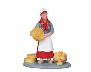 LEMAX VILLAGE CHEESE SELLER -  ITEM # 12899 NIP - RETIRED