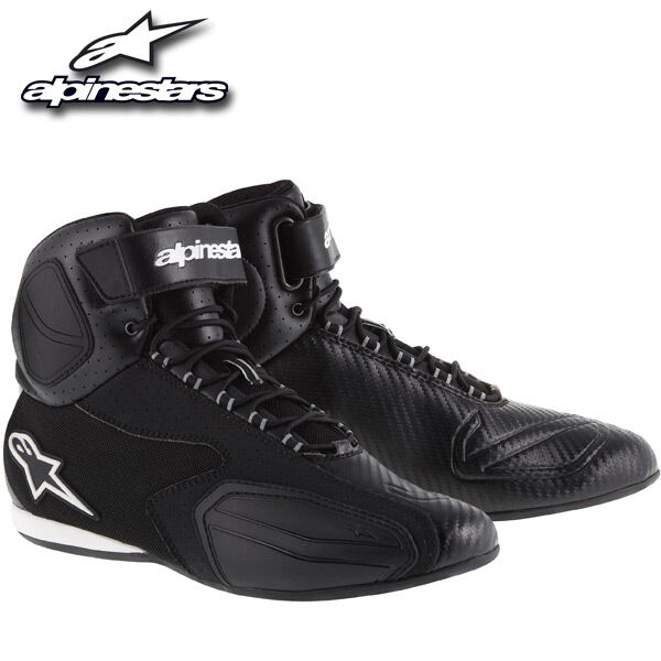 2015 ALPINESTARS FASTER MOTORCYCLE BOOTS / RIDE SHOES SIZES 8-13 SUPER TRICK!!