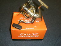 Shimano Exage Fd Front Drag Reel + Spare Spool All Varieties Fishing Tackle