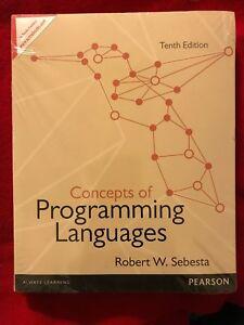Concepts Of Programming Languages Sebesta Pdf
