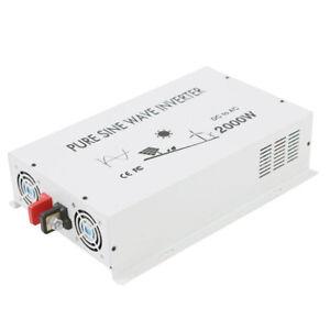 Pure-Sine-Wave-Inverter-2000W-12V-DC-to-120V-AC-Truck-Car-solar-Off-Grid-Power