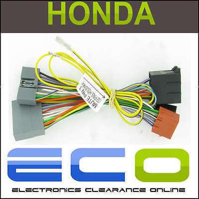 Honda ct10hd03 Civic Cr-v fr-v 05 /& gt Parrot mudo cableado Sot Plomo
