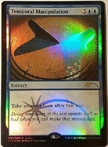 Manipulation-Temporelle-PREMIUM-FOIL-Temporal-Manipulation-JUDGE-Magic-Mtg