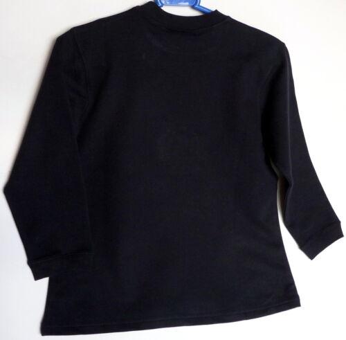 Bleu Marine Taille UK 6//7 Lumière Sweat-shirt Esprit Filles Haut à manches longues 8//9 ans