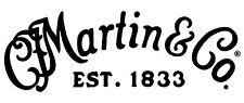 Martin Decal Logo Sticker for Guitar Hard Case, Amp Cab, Wall Art, Window, Car