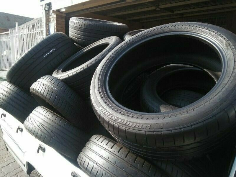 Quality Second Hand Run Flat and Normal Tyres