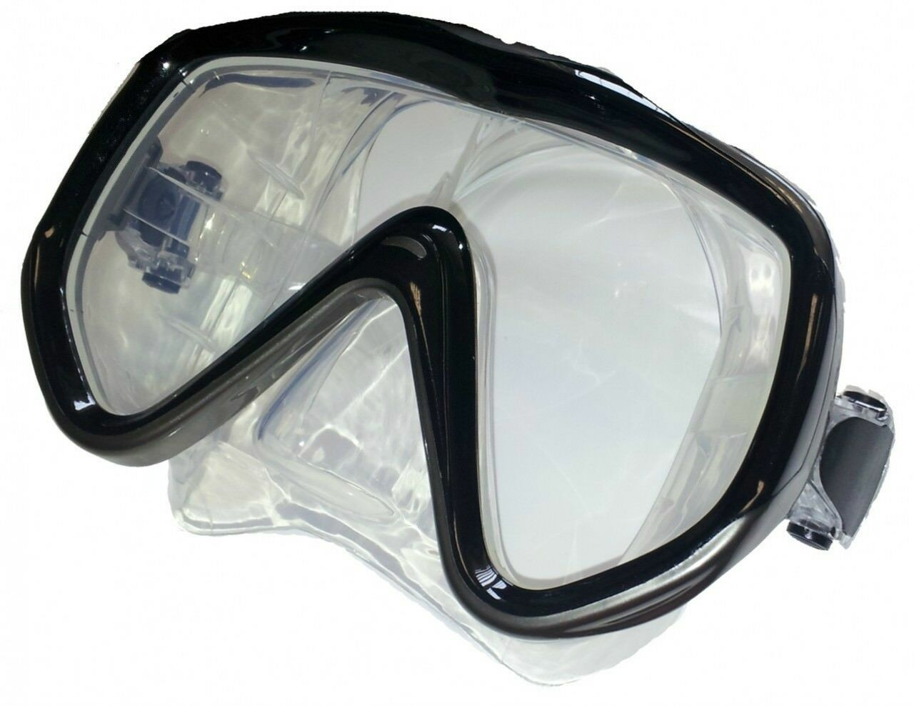 Vision Single Lens Clear Silicone Mask. Colour Choice