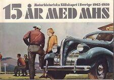 Motorhistoriskt Magasin Swedish Car Magazine 1965-1980 032717nonDBE