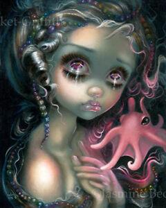 Jasmine Becket-Griffith pop art BIG print SIGNED The Little Mermaid fairytale