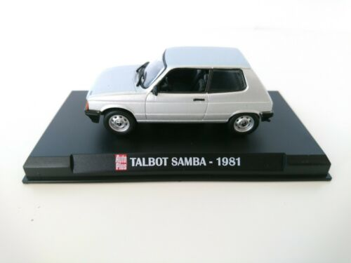 Talbot Samba 1981-1:43 Hachette Diecast Miniatur Modellauto 53