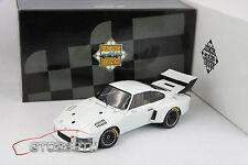 """EXOTO 1:18 Porsche 935 Turbo Works Prototype 1976 """"Client Private Team"""" White"""
