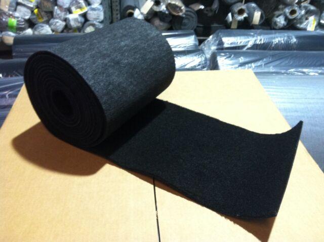 Bunk Marine Carpet / BOAT Trailer - BLACK - 12
