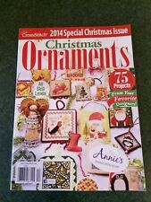 Just Cross Stitch Magazine 2014 Special Christmas Ornaments Issue 76 Projects