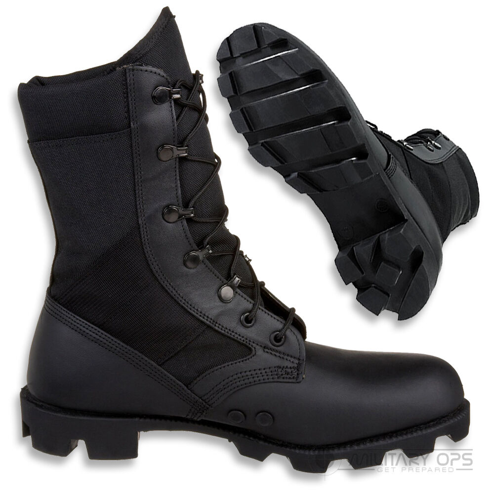 BRITISH ARMY ISSUE JUNGLE BOOT WELLCO US WEATHER TROPICAL HOT WEATHER US PATROL LEATHER 6ffa23