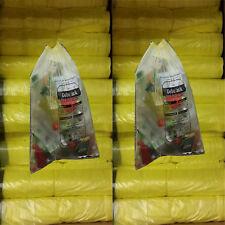 Gelbe Säcke 10 Rollen 130 Stück gelber Sack Müll Beutel Müllsäcke Angebot Neu