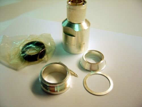 i.e. rg-17,  218 lots of 1 SILVER UG-495 A//U  HN fitting for Larger Coax