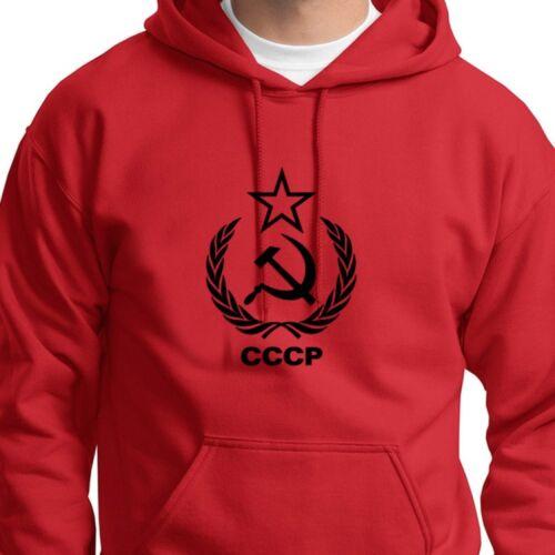 CCCP ARMY Soviet Russia Hammer sickle T-shirt USSR Hoodie Sweatshirt