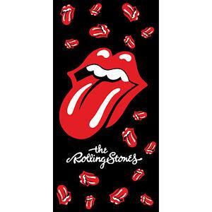 Charmant The Rolling Stones Hard Rock Serviette 70 X 140 Cm Serviette Serviette Plage Draps-afficher Le Titre D'origine