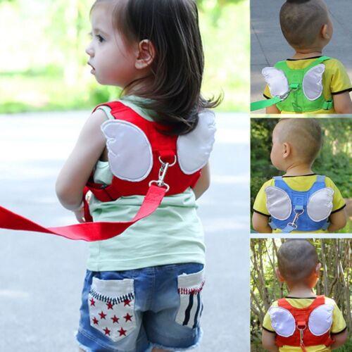 Kids Safety Leash Harness Walking Wings Belt Children Anti Lost Tether Strap