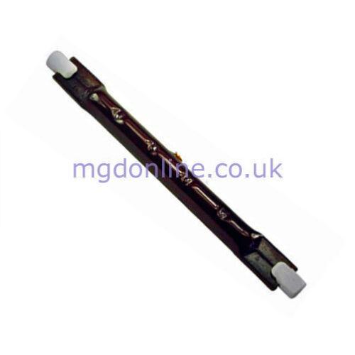 Pack 450-500 W 118 mm R7S infrarouge Heatmaster U3 Parasol Chauffant Ampoule De Lampe