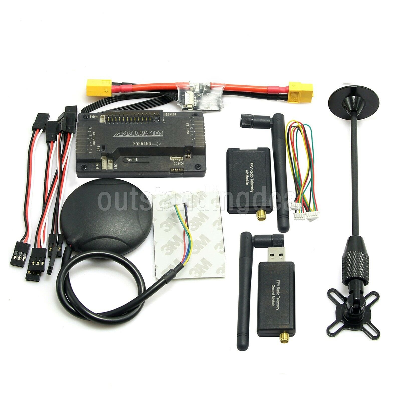 Apm2.8 ARDUPILOT APM Flight Controller without Compass + GPS + Telemetry + Power os12