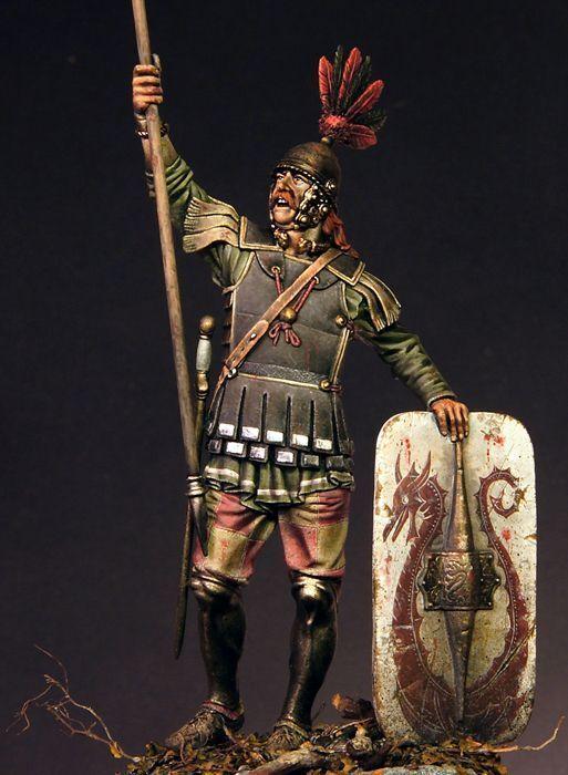 Soldaten - museum, keltische krieger, soldat, das hotel, griechenland, balkan, rom, 90mm