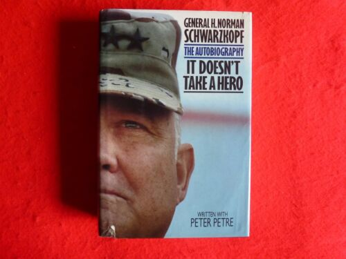 1 of 1 - It Doesn't Take A Hero: An Autobiography By General H Norman Schwarzkopf (1992)