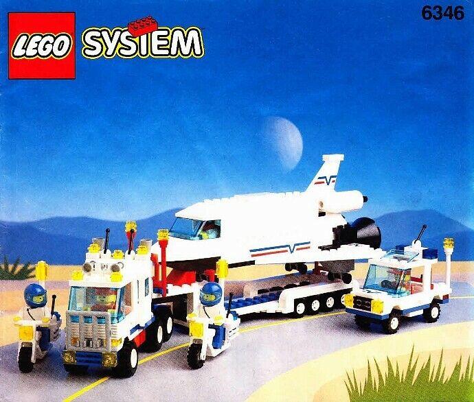 LEGO Ville navette lancement Crew (6346), 100% complet, boîte, instructions