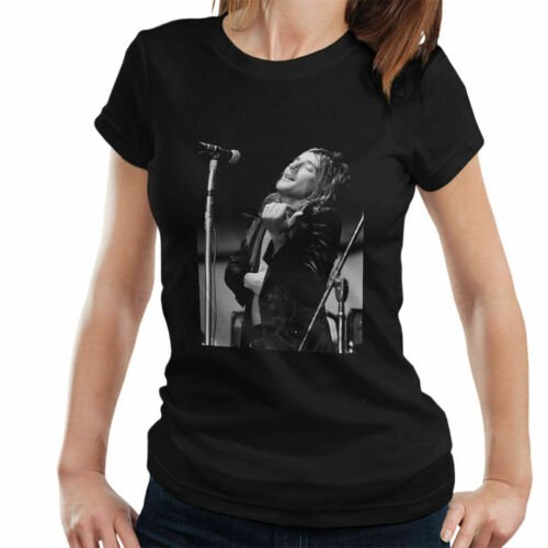 Debi Doss Official Photography Faces Rod Stewart 1971 Women/'s T-Shirt
