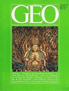 Responsable Geo - N°27 - Mai 1981 - Lions Demolisseurs Islande Laulasi Larzac Suchuan Et Aide à La Digestion