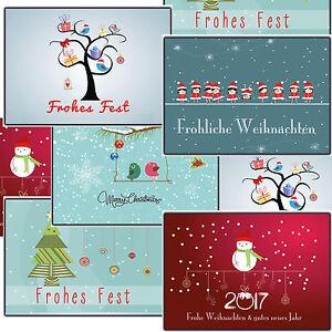 Weihnachtsgrüße Geschäftlich Lustig.Details Zu Weihnachtskarten Set 10 50 100 500 Stück Lustig Modernes Design Weihnachtskarte