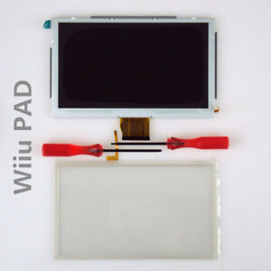 Replacement-LCD-Screen-Digitizer-Tools-Touchscreen-For-Nintendo-Wii-U-Gamepad