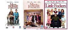 Meet The Parents: Little Fockers Trilogy Part 1 2 3 Triple Pack 1-3 DVD NEW UK