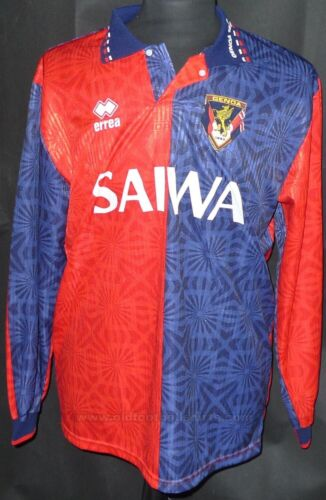 Genoa Italy Home Football Shirt 1992 XL LS
