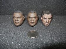 1/6 Laurence Fishburne Predator Noland Head Hot Toys Sideshow Matrix Morpheus