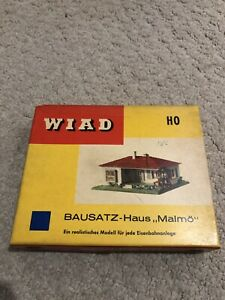 WIAD-BAUSATZ-Haus-Malmo-H0-OO-Scale-No-1016B-Plastic-construction-House-Kit-New