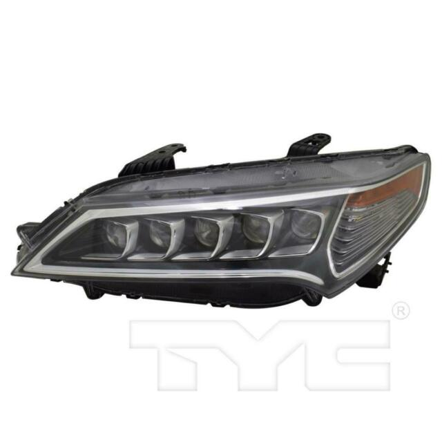 Acura TLX OEM 2015-17 Left LED Headlight 33150TZ3A01 For