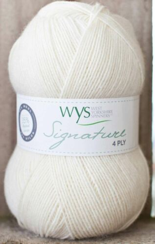 010 Milk Bottle West Yorkshire Spinners Signature 4 Ply Yarn Wool 100g