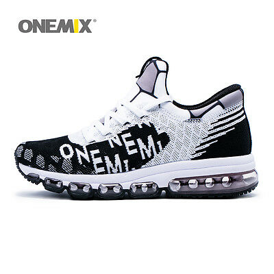 ONEMIX Running Shoes Men's Athletic Sneakers Air Cushion Sports Comfort Trainers