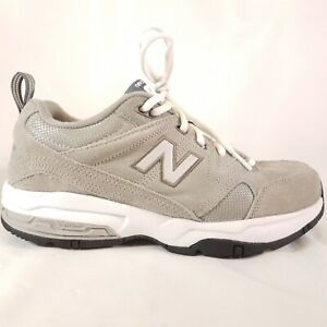 Details about New Balance 609 Sneakers MX609V2G Men's Size 8 Extra wide 4E grey suede q8