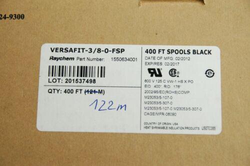 Raychem Versafit 3//8-0-FSP HEATSHRINK 10 Metres Free shipping