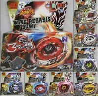 4D SYSTEM METAL FUSION BEYBLADE SERIES STARTER LAUNCHER SET BB113 114 116 121 12