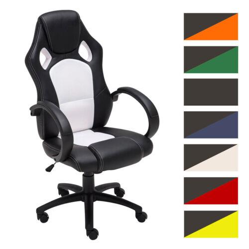 Fauteuil de Bureau Racing FIRE Chaise Gamer Ergonomique Hauteur Réglable