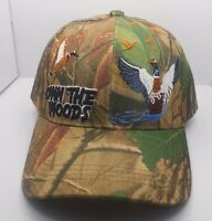 Duck Hunting Hunter Own The Woods Ball Cap Hat In Camo H32