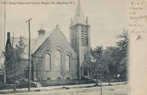 BAYONNE-NJ-Fifth-Street-Reformed-Church-Bergen-Point-udb-1905