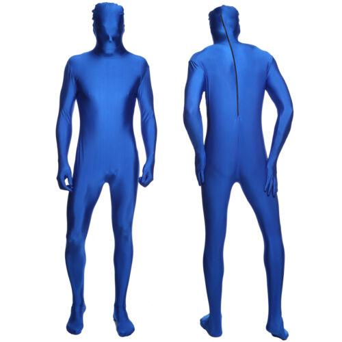Seconde Peau Unisexe Costume complet du corps Costume Combinaison Moulante Lycra Spandex Zentai Body