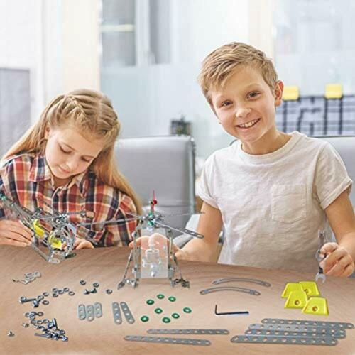 3 Bees /& Me STEM Helicopter Building Toy Kit Model For Boys Girls Age 8 To