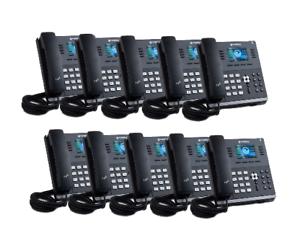 Details about Sangoma s505 IP Phone 10x Bundle - New