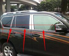 Window Frame Bottom Sill Cover Trim for Toyota Land Cruiser Prado FJ150 2010-13